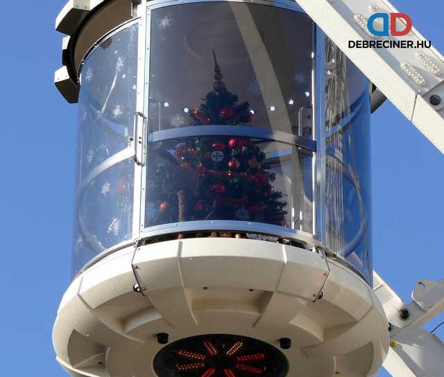 óriáskerék - karácsonyfa
