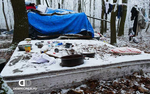 Hajléktalan emberek nyomában