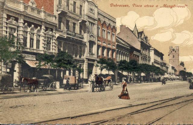 Debrecen régen - városkép