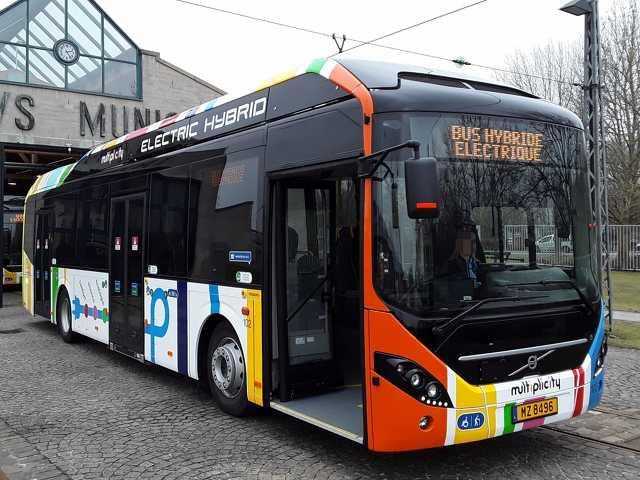 Luxemburg - autóbusz - közlekedés
