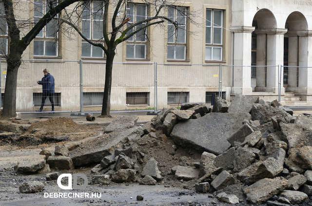 Dósa nádor tér – Csapó utca - 2020. március