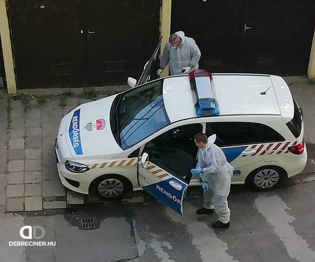 koronavírus - rendőrség