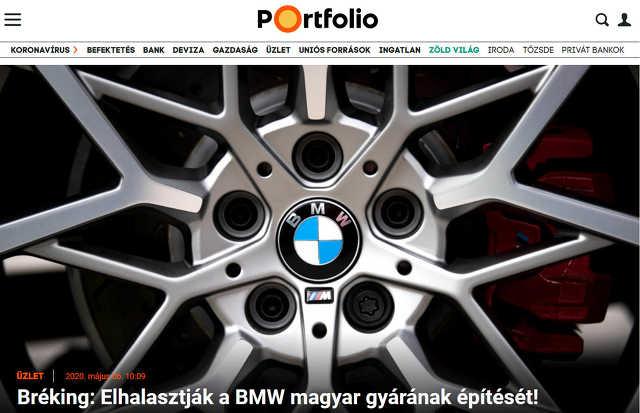 BMW - portfolio