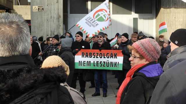 Kormányellenes tüntetés - Debrecen, 2019. január 19.