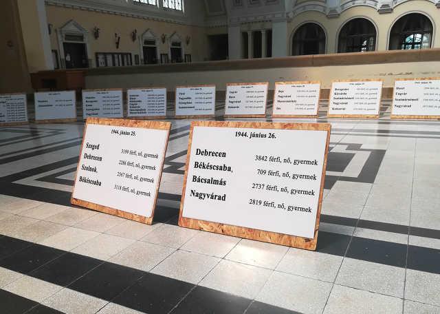 debreceni zsidóság deportálása - megemlékezés - Debreceni Egyetem