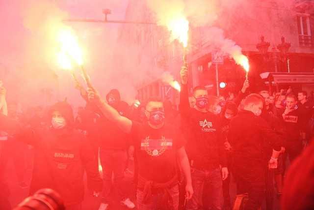 Mi Hazánk - tüntetés - demonstráció
