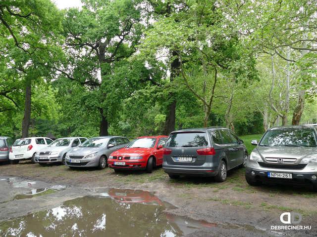 Nagyerdő - Nagyerdei Stadion - parkolás
