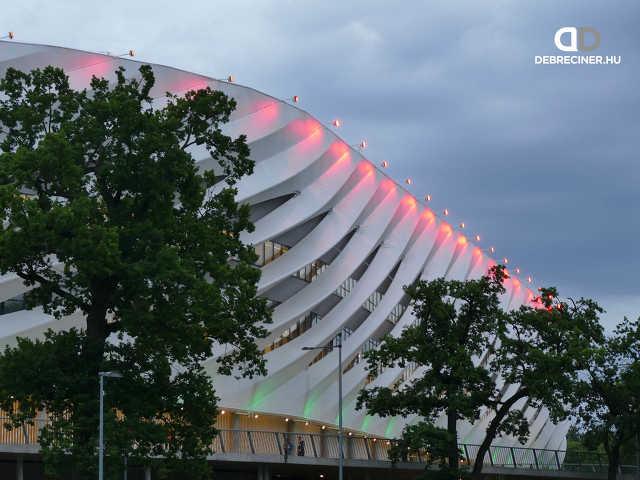 A Nagyerdei Stadion környéke 2020. június 5-én