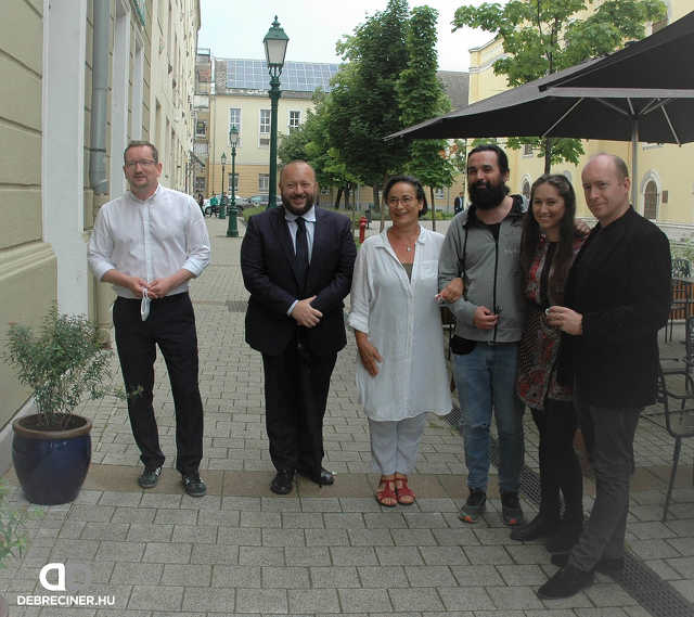 Csokonai Színház – Egy sajtótájékoztató képei – 2020. június 10.