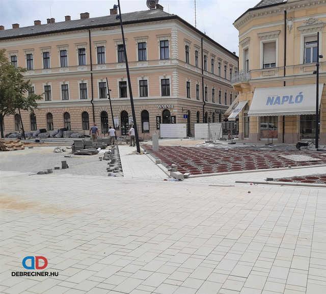Dósa nádor tér – Csapó utca - 2020. július