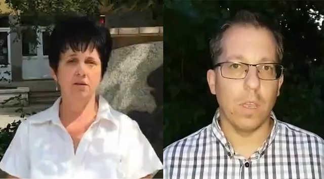 Hajdúnánás - Szücsné dr. Sebestyén Irén és Kocsis Áron
