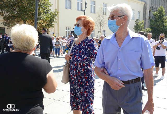Szent István debreceni szobrának avatóünnepsége – 2020. augusztus 20.