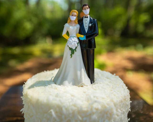 koronavírus - esküvő