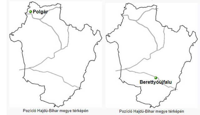 Polgár - Berettyóújfalu