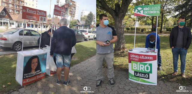 Tiszaújváros – időközi kampány – 2020. október 3.
