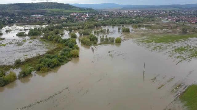 Sajó - árvíz - 2020. október
