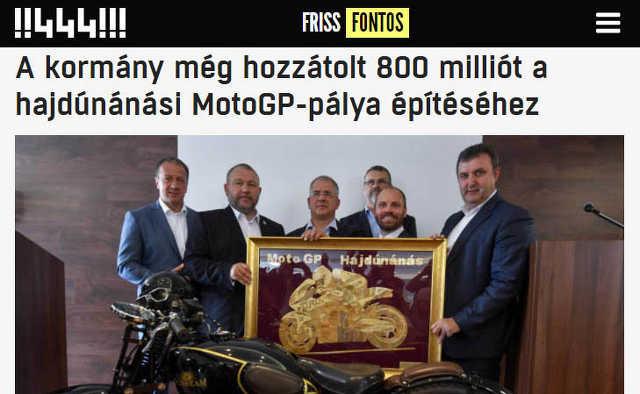 Hajdúnánás - MotoGP