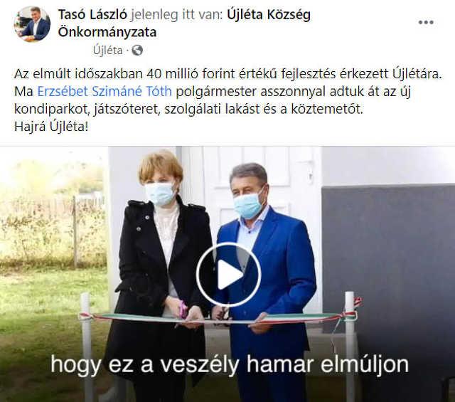 Tasó László - Újléta