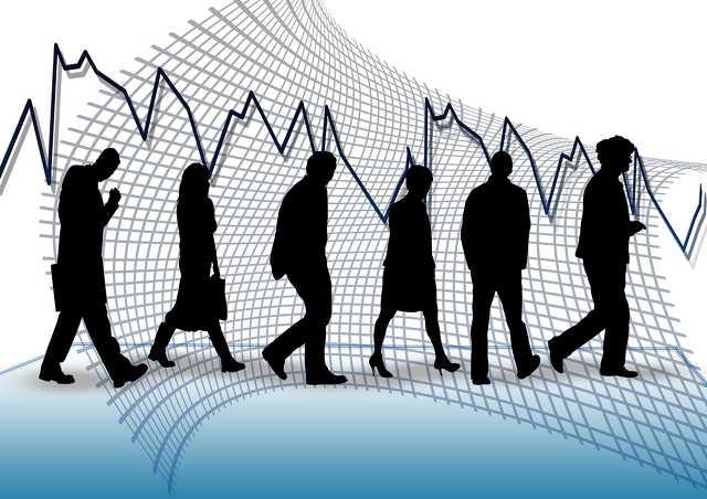 munkanélküli - gazdaság - grafikon