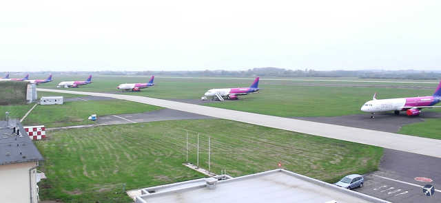 Airport Debrecen - repülőtér