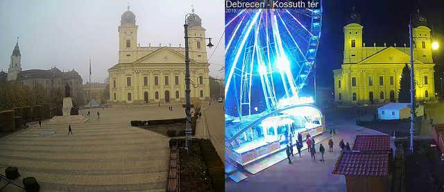 Debrecen főtér