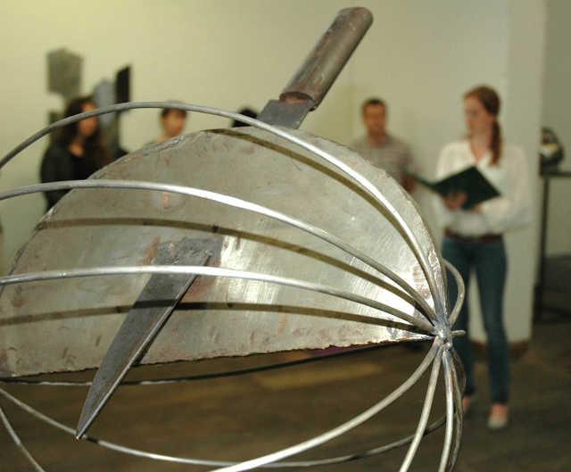 Válogatás a Kecskeméti Acélszobrászati Szimpozion gyűjteményéből – kiállítás a Sesztina Galériában