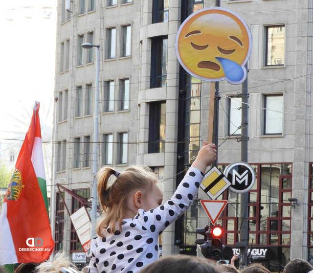 """""""Mi vagyunk a többség!"""" tüntetés - Budapest, 2018. április 14."""