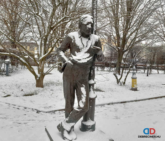 tél - hó - Debrecen - Szabó Lőrinc
