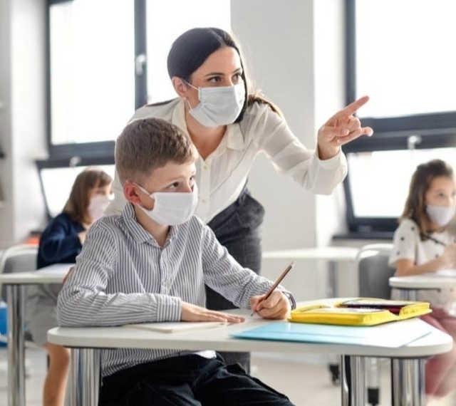 koronavírus - iskola, oktatás