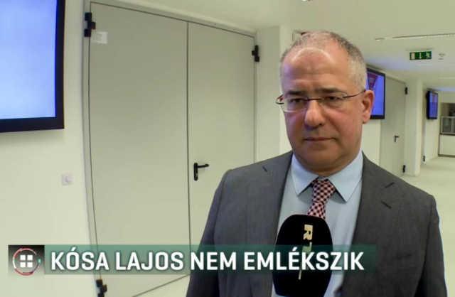RTL Híradó - Kósa Lajos