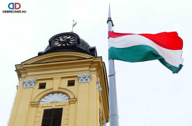 2021. március 15. - Debrecen, belváros