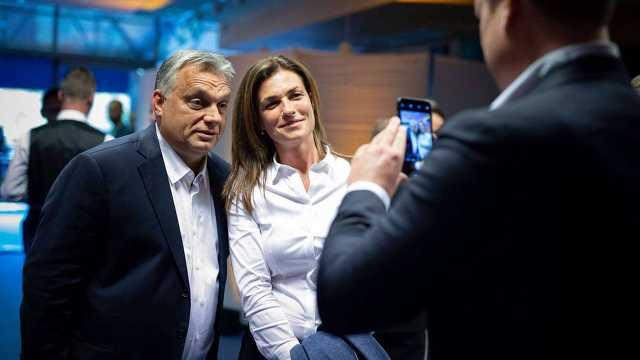 Orbán Viktor és Varga Judit