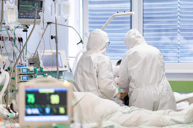 koronavírus - kórház