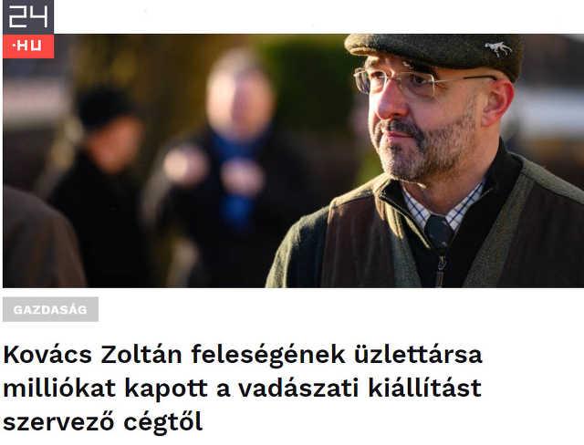 Kovács Zoltán - 24.hu