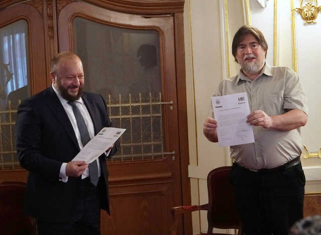 Puskás István és Szűcs László