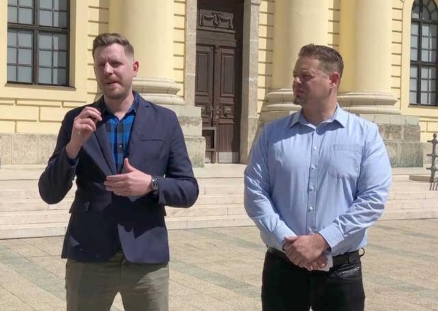 Jármi Péter és  Keresztes László Lóránt - LMP