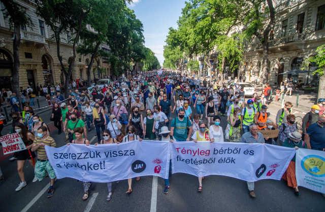 Fudan - tüntetés - 2021. június 5.