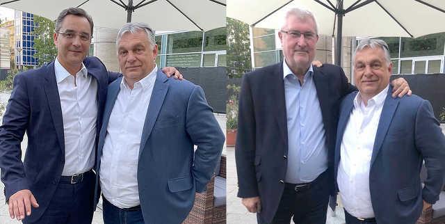 Orbán Viktor, Vitányi István, Papp László