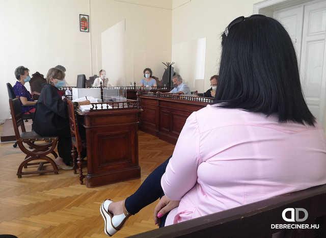 Tikász Ferenc - bíróság