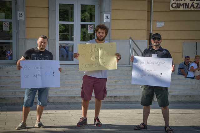 Fidelitas demonstráció homofób