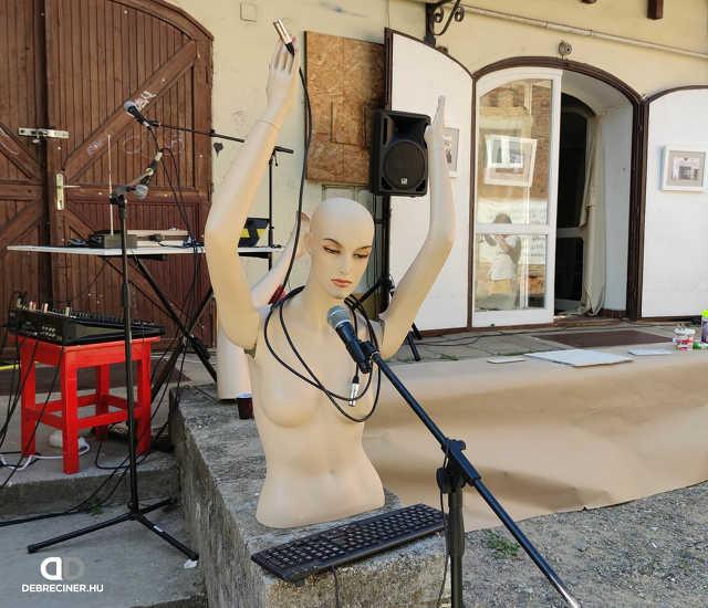 Street art udvar – Debrecen, 2021. augusztus 12.