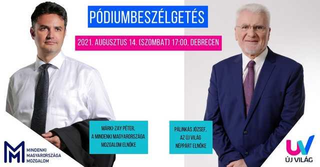 Márki-Zay Péter és Pálinkás József