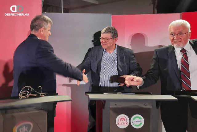 Ellenzéki előválasztási vita – Debrecen 1. választókerület