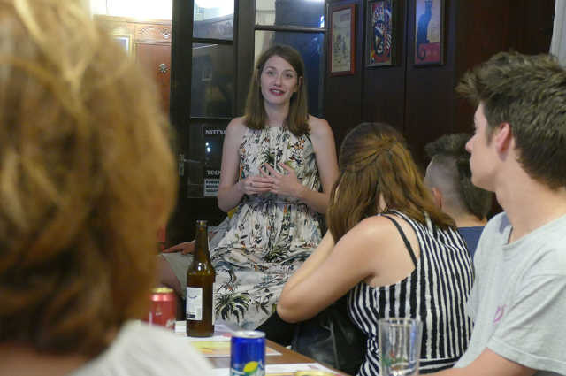 Donáth Anna a debreceni Susmus Caféban - 2019. július 26.