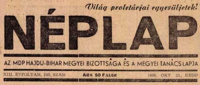 1956 - Néplap