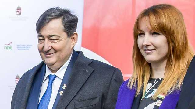 Mészáros Lőrinc és Mészáros Beatrix