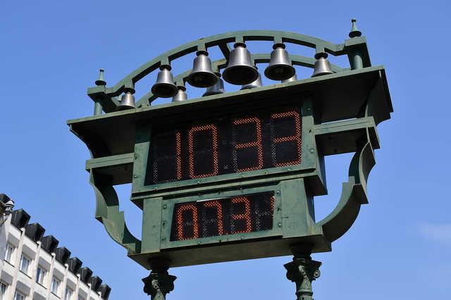 Kossuth tér - köztéri óra