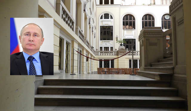 Debreceni Egyetem - Putyin
