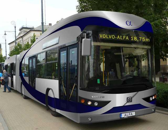 Volvo autóbusz - közlekedés