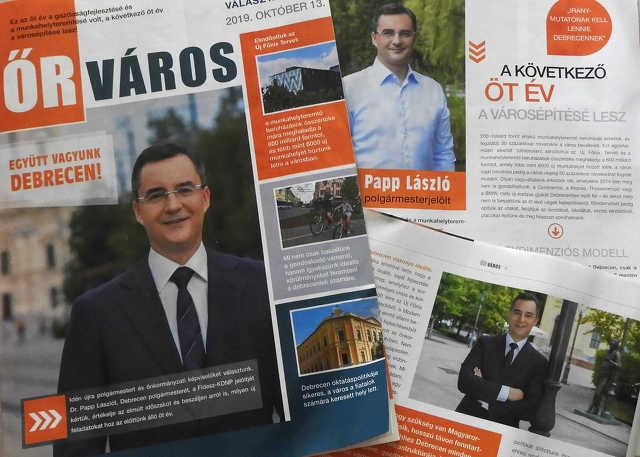 Fidesz - Papp László - választás
